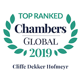 CDH rankings in Chambers Global 2019